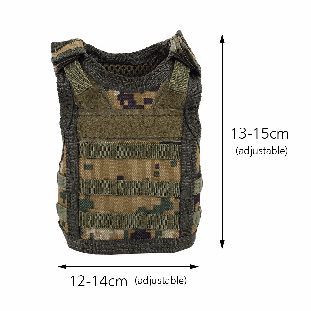 Camping & Hiking Beer Vest Mini Tactic Military Vest For Beer Bottle Miniature Wine Bottle Cover Vest Beverage Cooler Camping Hiking Accessories Sale Overall Discount 50-70% Hiking Vests
